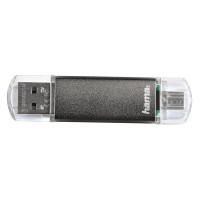 Hama USB 2.0 Laeta Twin FlashPen 8Gb (123923)