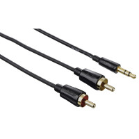 Hama Cable 3.5mm - 2RCA