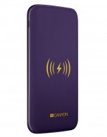 Canyon CNS-TPBW8P/Power Bank+Wrls Charger 8000Prpl