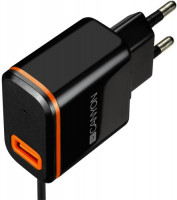 Canyon CNE-CHA042BO/1xUSB Type C 5V 2.1A Black