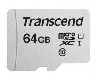 Transcend microSDXC/SDHC 64GB (TS64GUSD300S-A)