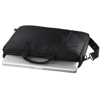 "Hama ""Cape Town"" Notebook Bag Blk/Bl 15.6""(101907)"