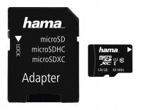 Hama microSDXC 128GB Class 10 + Adapter