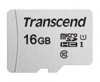 Transcend microSDXC/SDHC 16GB (TS16GUSD300S-A)