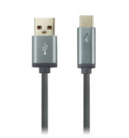 Canyon CNS-USBC6DG/Type C Cable LED 1m Dark Grey